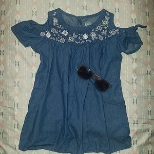 Other - Girls Floral Blouse